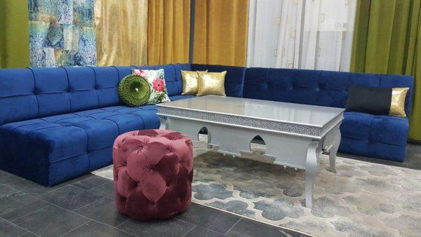 Salon Marocain Capitonné sur Mesure