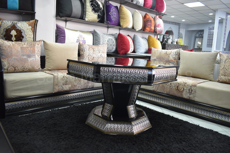 Salon Marocain Arabesque Tawous