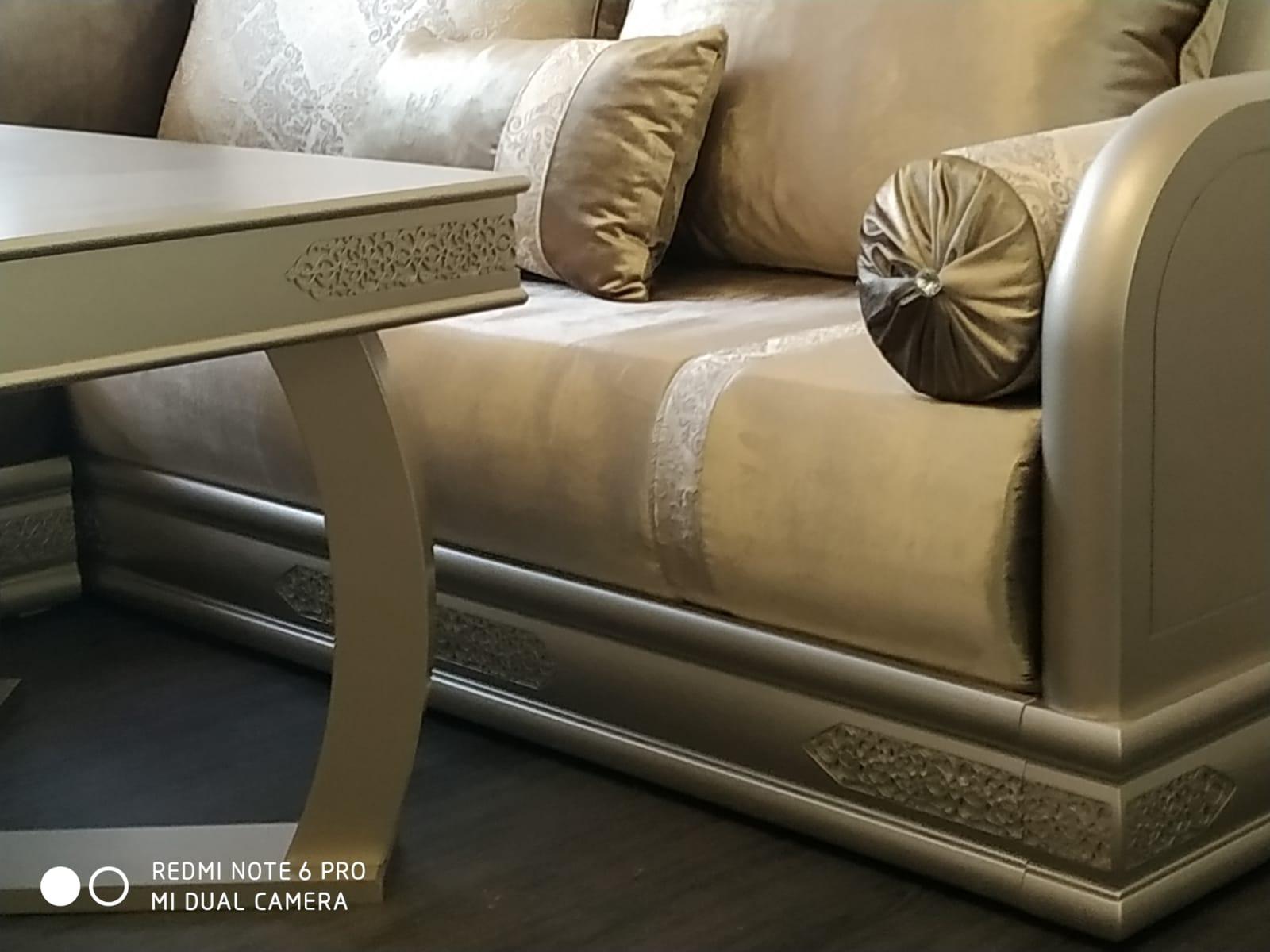Comment Fabriquer Un Sedari Marocain salon marocain moderne sur mesure - objets d'artisanat marocain