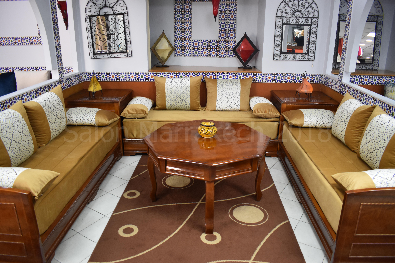 Les tissus des salons marocains   Salon marocain Aubervilliers