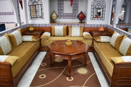 Salon Marocain Torsadé Wengue